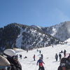 Skiers At Mount Baldy