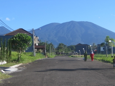 Mount Gede's Southern Side