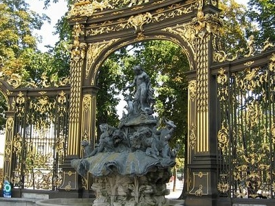 Place Stanislas-Fountain Of Neptune