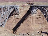 Navajo Steel Arch Highway Bridge