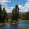 Nez Perce Ford Historic Wayside - Yellowstone - USA