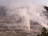 View Of Norris Geyser Basin