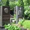 Novodevichy Cemetery In Summer