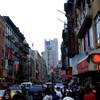 At Canal Street In Chinatown