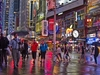 NY Times Square In Rain