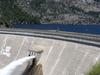 Hetch Hetchy Reservoir Behind The O'Shaughnessy Dam