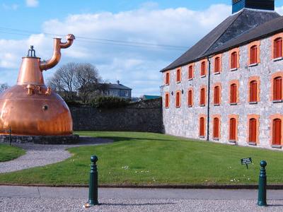 Old Distillery With Copper Pot Still