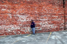 Old Port Brick Wall - Portland ME