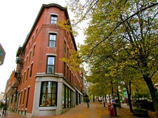 Old Port Street Scene - Portland ME