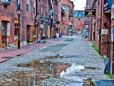 Old Port Street View - Portland ME