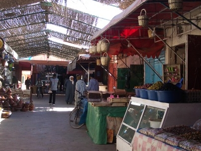 The Ouarzazate Souk