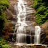 Outflow From The Lake Goes Over The Silver Cascade Fall