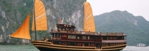 Calypso Cruiser on Halong Bay
