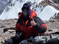 Aconcagua Summit, Beck Ground Sout Face