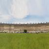 Panoramic View Of Royal Crescent
