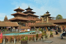 Patan Palace In Durbar Square