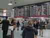 Penn Station Departure Board