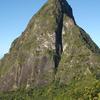 Petit Piton Seen From The Piton Mitan Ridge