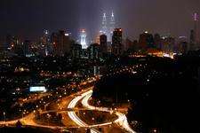 Petronas Twin Towers - Night View