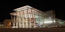 The Pit Arena At Night