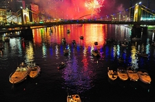 Pittsburgh 250 Celebration - Roberto Clemente Bridge - Pennsylvania