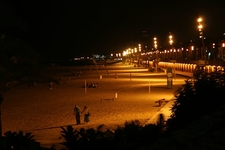 Playa Barceloneta Nocturno