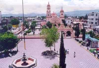 Plaza  Chiconcuac