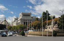 Plaza De Cibeles - Downtown Madrid - Spain