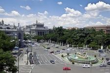 Plaza De Cibeles - Madrid Spain