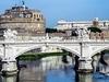 Ponte Mazini - Castello San' Angelo - Fiume Tevere In Rome
