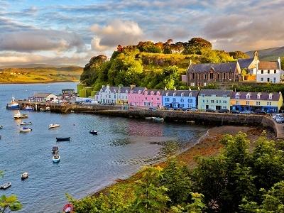 Portree - Scotland Isle Of Skye