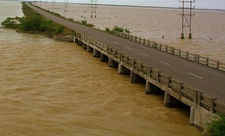 Pulicat Lake And Bird Sanctuary (Flooded Due To Rains)