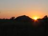 Sun Setting Over Pilanesberg