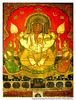 Rajasthani Painting Of Lord Ganesha City Palace