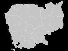 Regional Map Of Cambodia