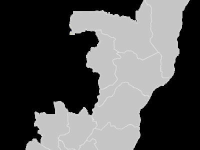 Regional Map Of Congo Brazzaville