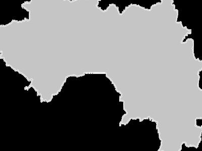 Regional Map Of Guinea