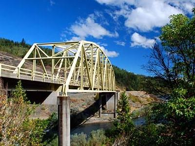 Rogue River Bridge Side