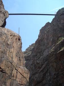A View Of The Royal Gorge Bridge