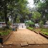 Ryewood Park Entrance Pavement - Lonavala - Maharashtra - India