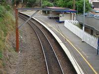 Raroa la estación de tren