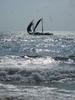 Sailboats Near Brown Beach Hotel