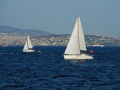 Sailing The Sea Of Marmara