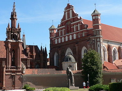 Saint Ann's Church In Vilnius