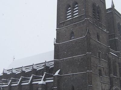 Saint   Flour  Cathedral