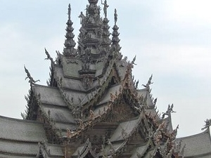 Sanctuary of Truth Pattaya Half Day Tour Photos