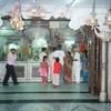 Sanctum Wall With Hanuman Deities Facing South