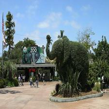 San Diego Zoo Entrance Elephant