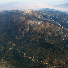 View Of San Gorgonio Mountain