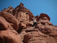 Scaling Chimney Rock